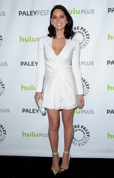 "Olivia Munn Photos - ""The Newsroom"" - PaleyFest 2013..Saban Theater, Los Angeles, CA..March 3, 2013..Job: 130301A2..(Photo by Axelle Woussen)..Pictured: Olivia Munn. - 'Newsroom' Cast Poses at PaleyFest"