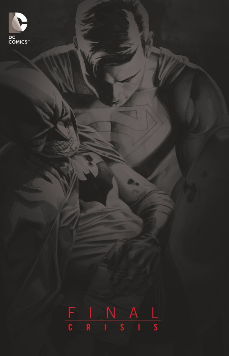 Final Crisis - Superman & Batman by J.G. Jones *