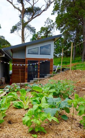 Hemp Tiny House - modern and, a Mullumbimby Studio | Stayz
