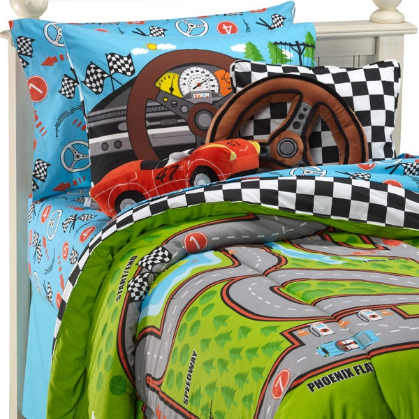 not sure my son would ever sleep in these he would be too busy racing race car bedroomtwin comforter setsbedding