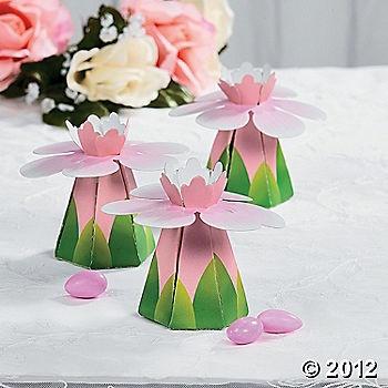 Lotus Favor Boxes Wedding Gift