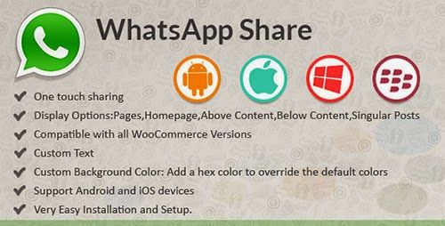 CodeCanyon - WhatsApp Share v1.0 - WordPress Plugin