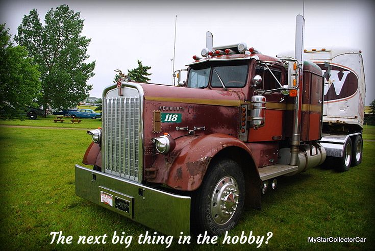 What's the next big thing in the hobby? Here's a clue--they're very large and very much in charge. Read more in this MSCC piece: http://mystarcollectorcar.com/big-rigs-a-hot-new-trend-in-…/ #vintagebigrigs