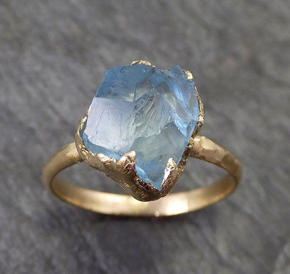 Carved Gemstone Ring Bands