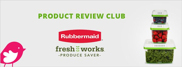 New Product Review Club Offer: Rubbermaid® FreshWorks™  #RubbermaidFreshWorks
