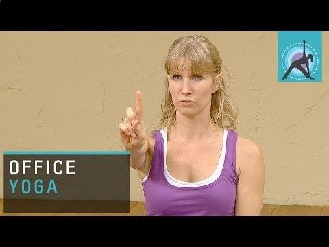 Awesome Yoga exercises for bloggers so they won't finish their days with sore eyes and stiff shoulders! bloggerbabes.com