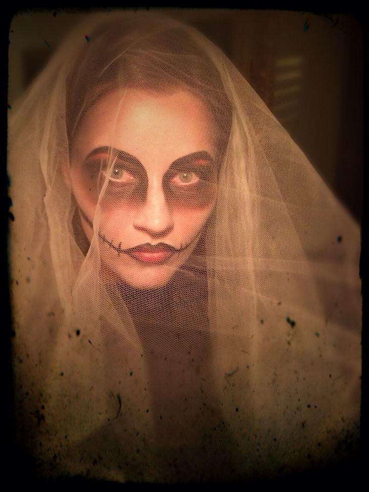 Spooky Halloween inspired makeup