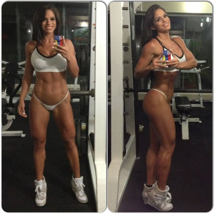 Ripped Fitness Model Michelle Lewin's Best 20 Pictures Ever!