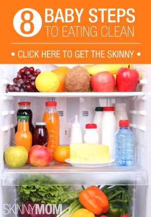 Eating clean is not easy.. Here's baby steps to make it easier!