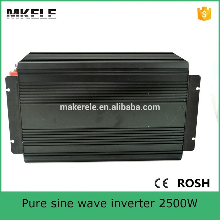 267.52$  Buy here - http://ali1xa.worldwells.pw/go.php?t=32499751150 - MKP2500-241B pure sine wave 2500watt big power inverter 24vdc to 115vac off grid type for home use  267.52$
