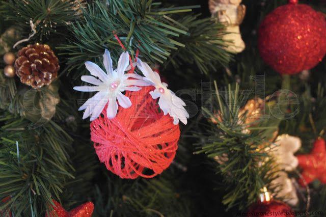Sfere di Natale delicate - Delicate Christmas Ornaments