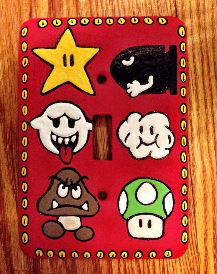 This Is A Hand Painted Metal Light Switch Cover I Can