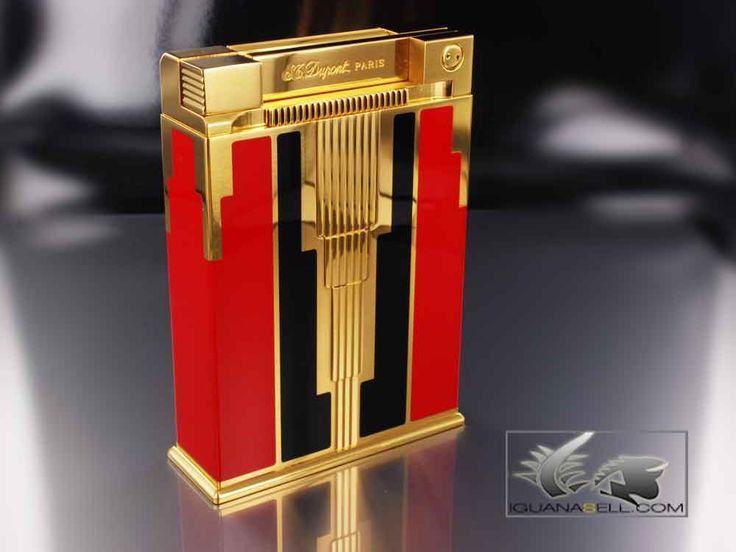 S.T. Dupont Jeroboam Tischfeuerzeug Art Deco