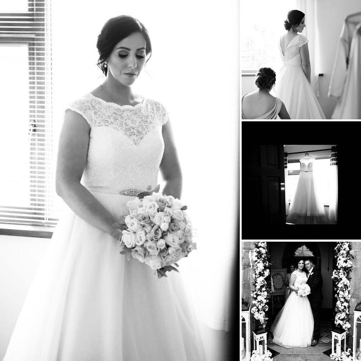 """Hello, I know im late sending you in pictures of the dress but here they are 😊 I just wanted to say a massive thank you to sue who helped me pick my gorgeous mikaella wedding dress. I loved every minute wearing it. All the best Edel x"". Dress: Mikaella Bridal"