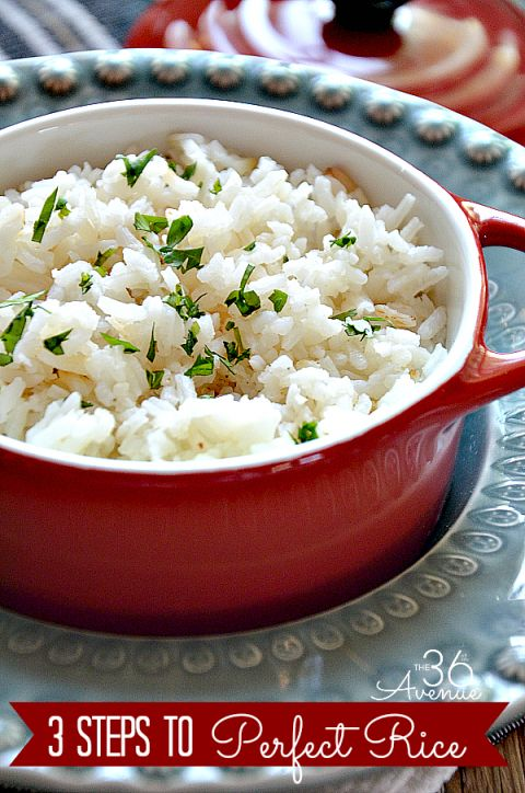 How to Make White Rice the36thavenue.com