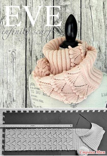 Случайно наткнулась на этот шарф, он прошлого года, еще платные описание и схема, поэтому решила, что смогу схему по фото сделать, как и размеры определить.