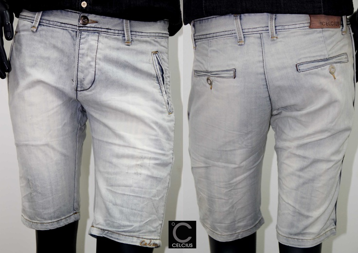 New Arrivals !!  CELCIUS shorts   Color : Blue Size : 28,29,30,31,32,34
