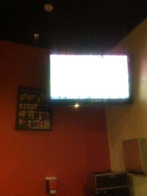 We have an awesome TV at our Centerville location! #sports #entertainment #pizza