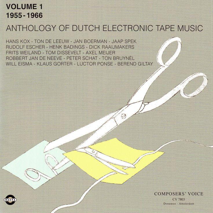 Basta 3091822   Anthology of Dutch Electronic Tape Music Volume 1 - 1955-1966