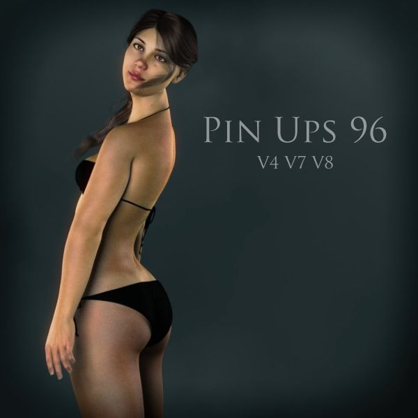 FREE Pin Ups 96 Poses for Victoria 4 (V4), Genesis 3 Female (V7) and Genesis 8 Female (V8) for Poser and DAZ Studio http://www.most-digital-creations.com/freestuff.htm