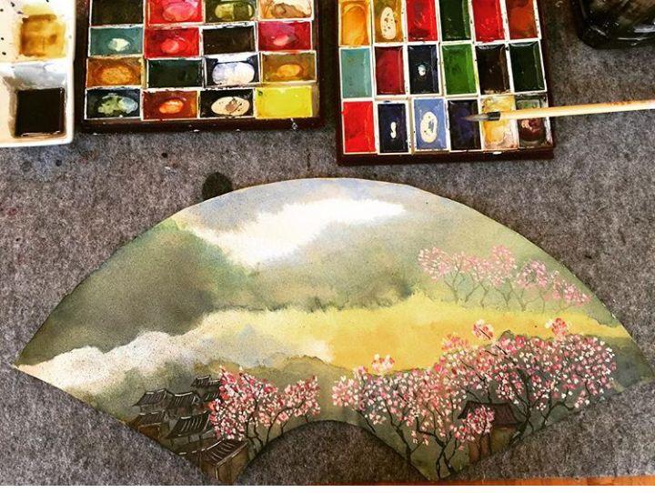 Işıl Özkan / Japon Sanat Merkezi Sumi-e Atölye Çalışması