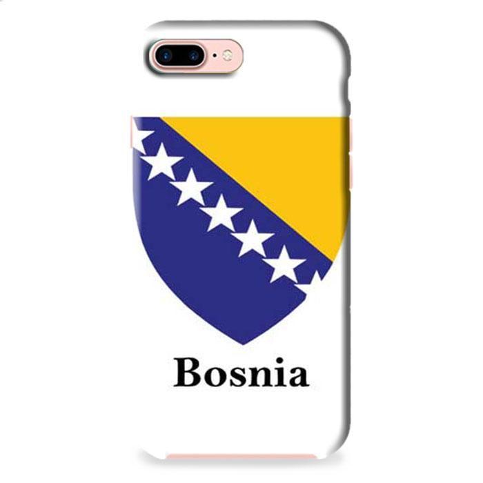 Bosnia Flag iPhone 7 Plus 3D Case Dewantary