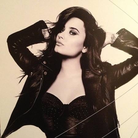 Demi Lovato -   Demi album booklet photos