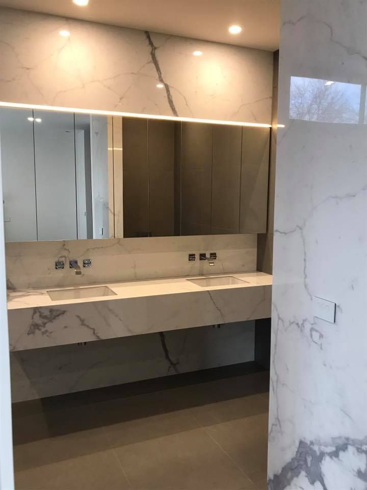 From 6mm Porcelain Calacatta, in Kew East | by KAYSTONE, AUSTRALIA