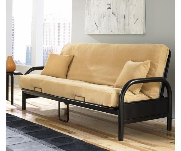 Fashion Bed Group Saturn Full Size Metal Futon