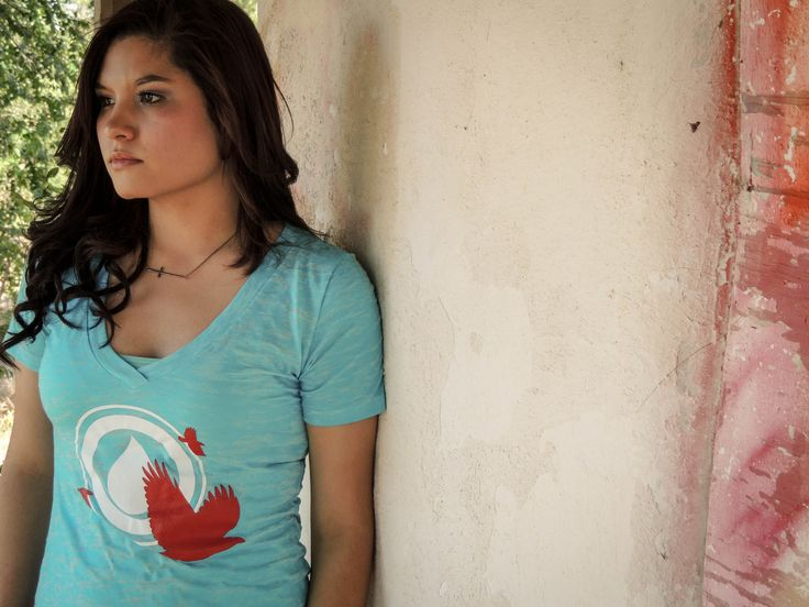 great fitted v-neck from Sangre Azul Apparel