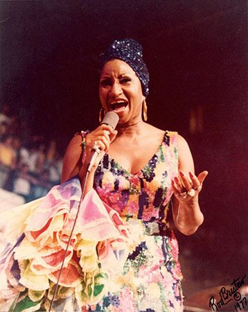Celia Cruz Never-Before-Seen Photos