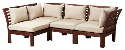 traditional outdoor sofas by IKEA
