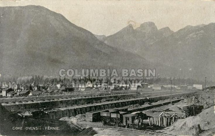 Coke Ovens, Fernie, BC, 1905.
