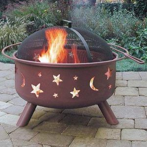 landmann moon and stars fire pit | saxon homecare moon and stars fire pit Awesome moon and stars fire pit Design