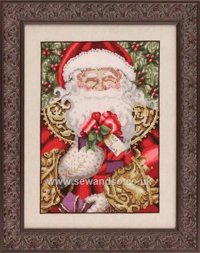 Shop online for MD120 - Santa Chart at sewandso.co.uk. Browse our great range of cross stitch and needlecraft products, in stock, with great prices and fast delivery.
