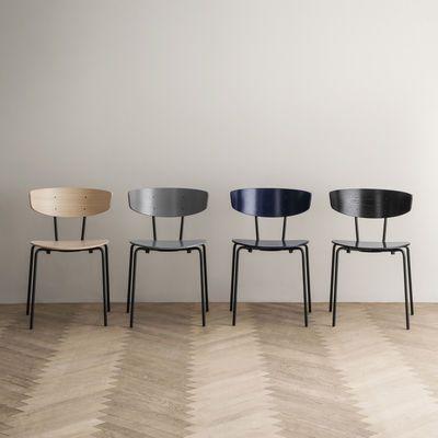 Herman Stackable chair - Wood & metal by Ferm Living