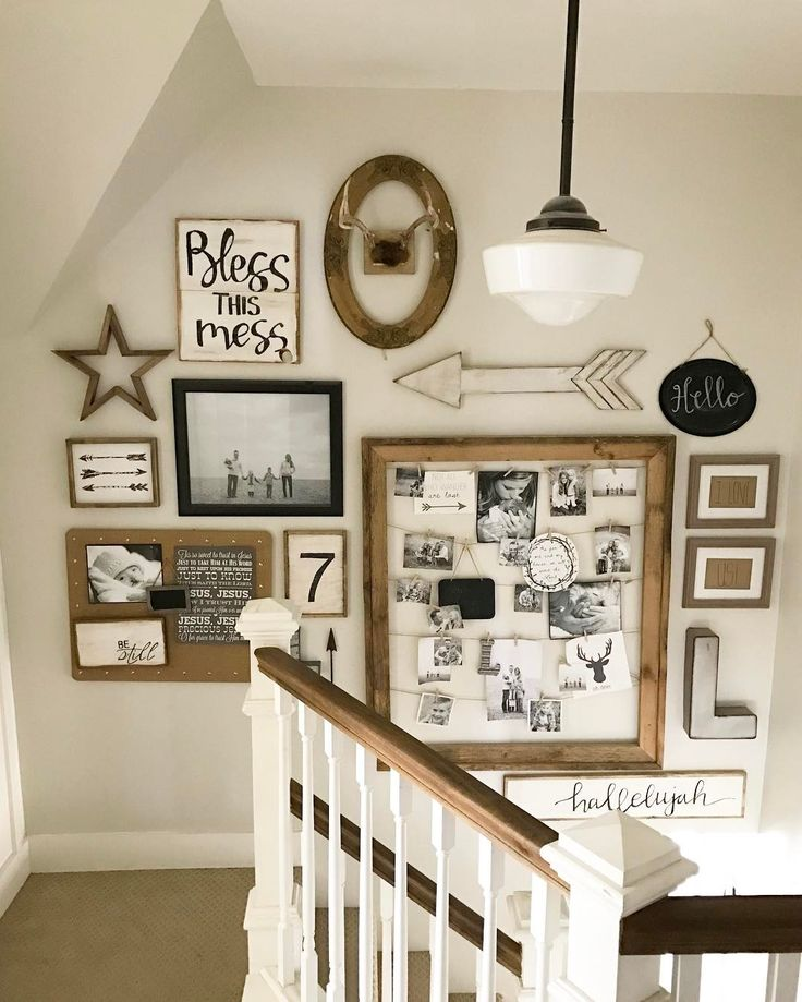 Best 25+ Rustic gallery wall ideas on Pinterest   Rustic ...