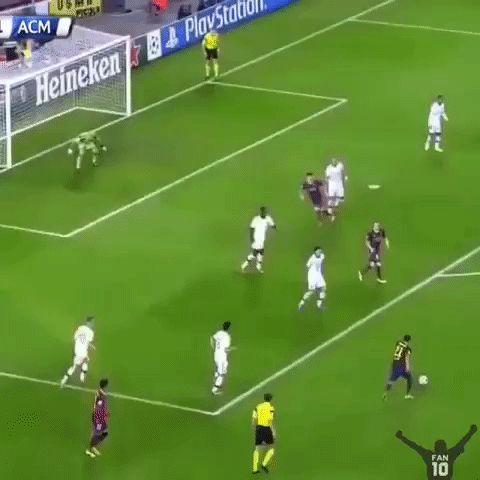 Messi is amazing