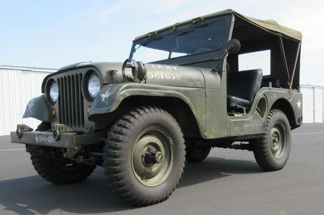 Coming up for auction on GovLiquidation: 1952 Willys M38A1 Jeep 4x4!