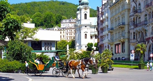 Karlovy Vary St. Mary Magdalene Kilisesi