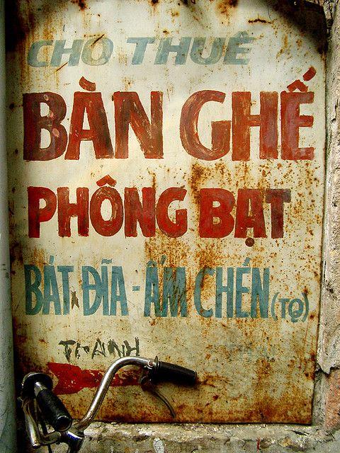 Vietnamese Sign by Le Troubadour, via Flickr