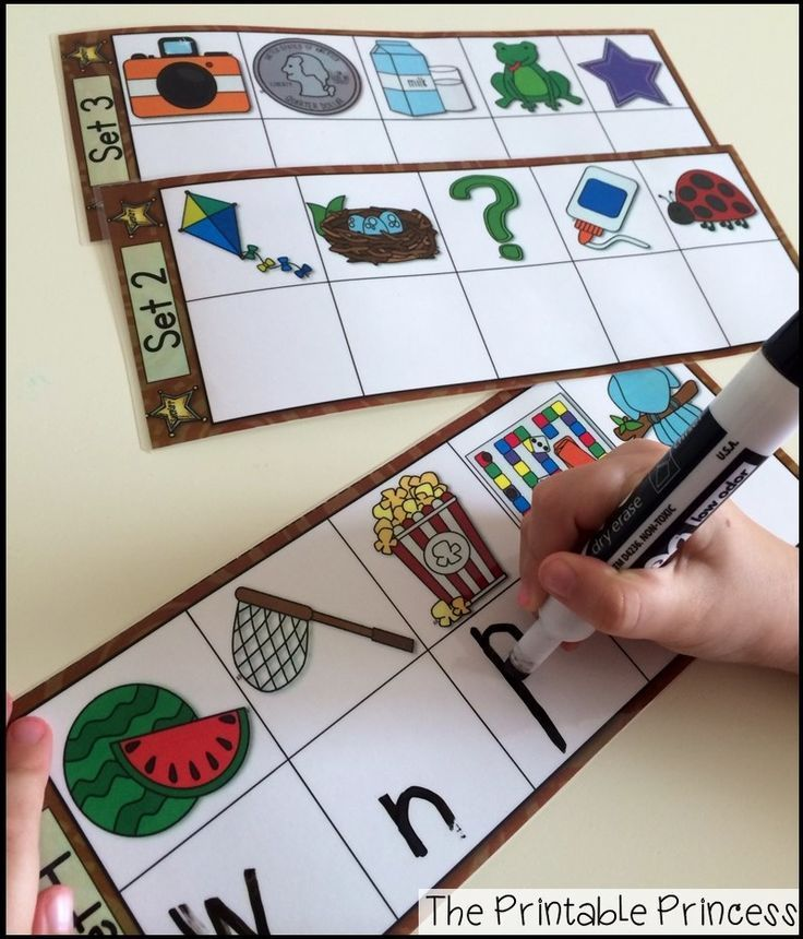 Great practice for beginning sounds!