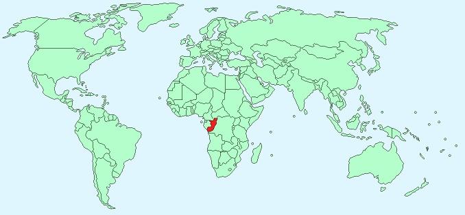 carte de la monde