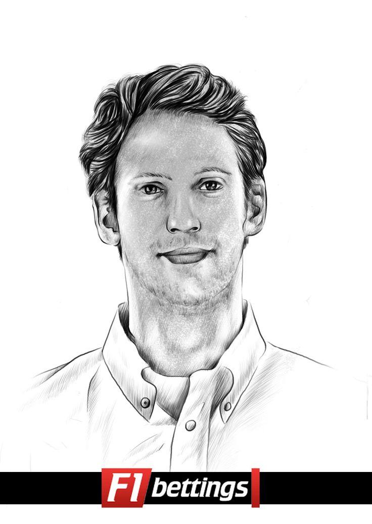 F1 driver Romain Grosjean f1-bettings.com