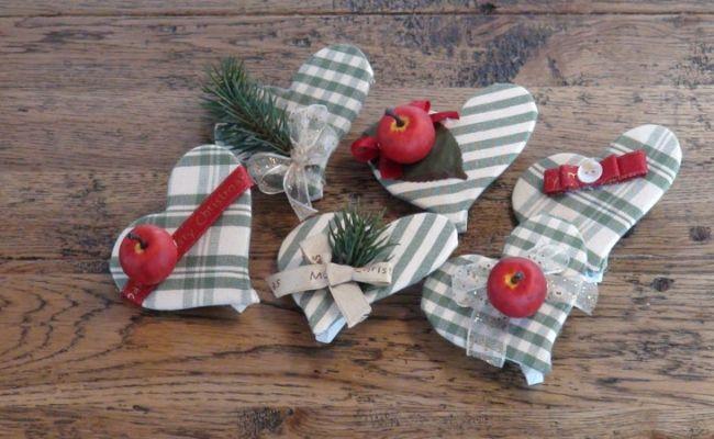 decorazioni natalizie a cuore | bagswithlove