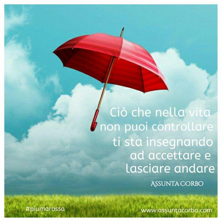 Se puoi cambia le cose.  Se non puoi accetta e lascia andare. In ogni caso hai scelto la felicità.  Buona giornata.  #piumarossa #citazioni  www.assuntacorbo.com