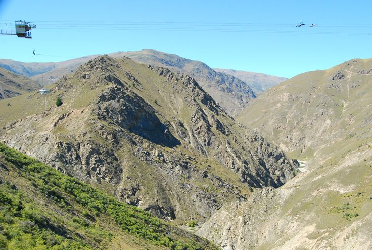 The Nevis Swing - AJ Hackett Bungy create this amazing swing which arcs out over the valley right next door to the famous Nevis Bungy!