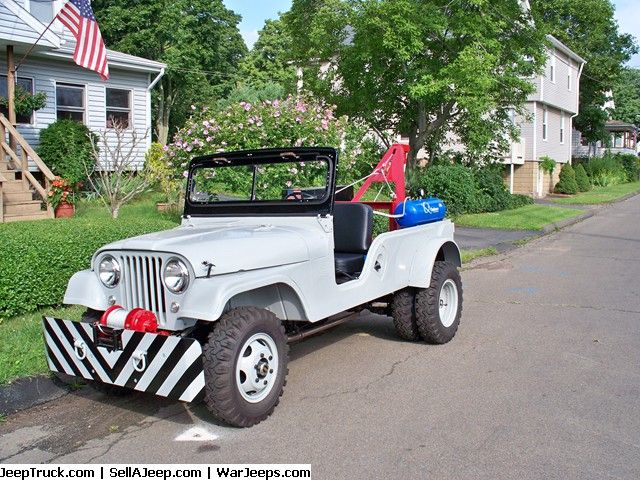 1962 CJ6 Garage Service Wrecker Jeep - For Sale This jeep was restored to…