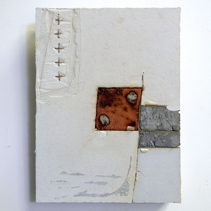 Concrete and textile piece are by Dutch-born artist Marlie Hoevers