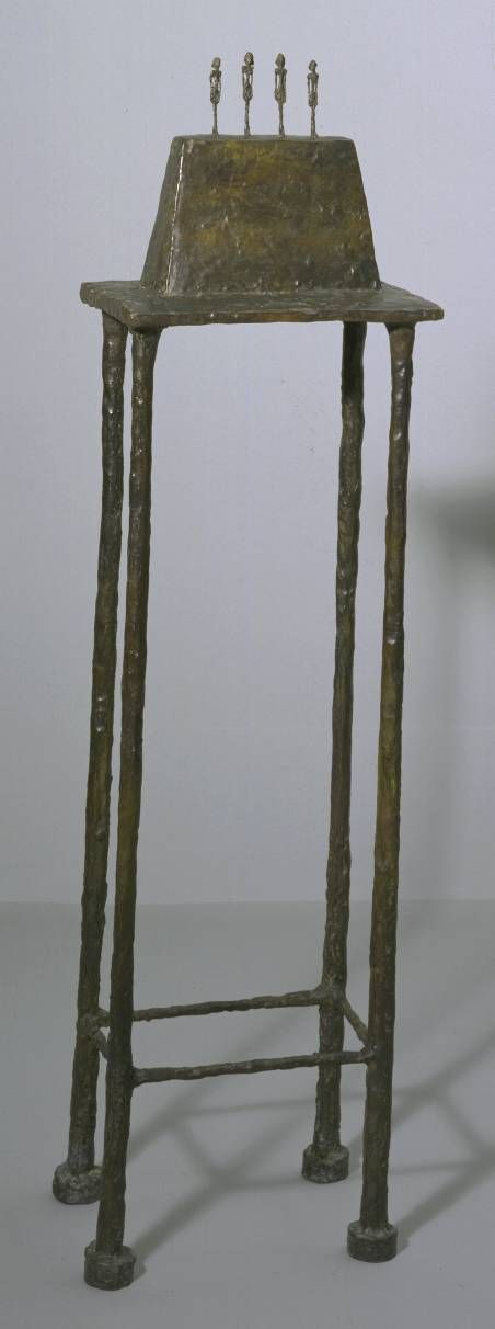 Alberto Giacometti, Four Figurines on a Base, 1950/ 1965, cast 1965/ 1966